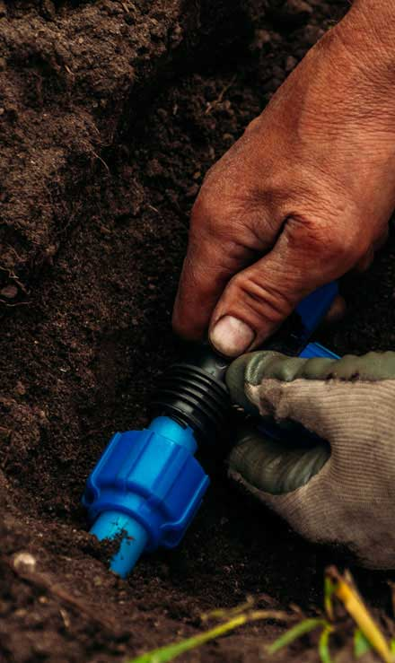 Five Brothers Enterprises Inc. Irrigation Installation